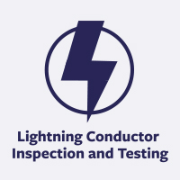 lightning conuctor inspection and testing icon